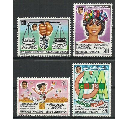 Znaczek Tunezja 1988 Mi 1164-1167 Czyste **