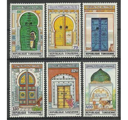 Znaczek Tunezja 1988 Mi 1182-1187 Czyste **