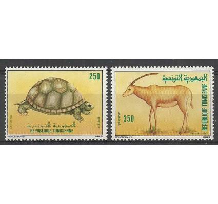 Znaczek Tunezja 1989 Mi 1194-1195 Czyste **