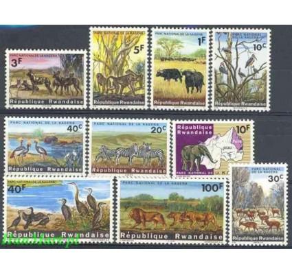 Znaczek Rwanda 1965 Mi 104-113 Czyste **