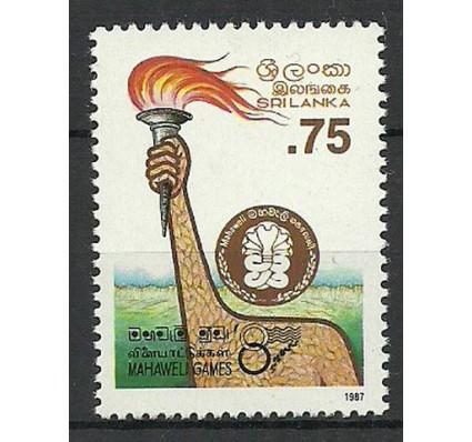 Znaczek Sri Lanka 1987 Mi 801 Czyste **