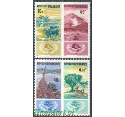 Rwanda 1965 Mi 125-128 Czyste **