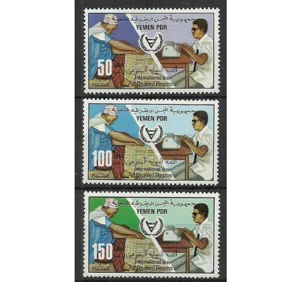 Znaczek Jemen Południowy 1981 Mi 284-286 Czyste **
