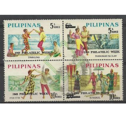 Znaczek Filipiny 1969 Mi 907-910 Stemplowane