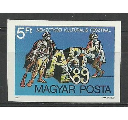 Znaczek Węgry 1989 Mi 4018B Czyste **
