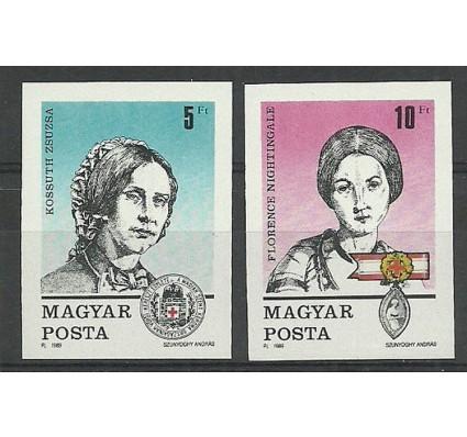 Znaczek Węgry 1989 Mi 4048-4049B Czyste **