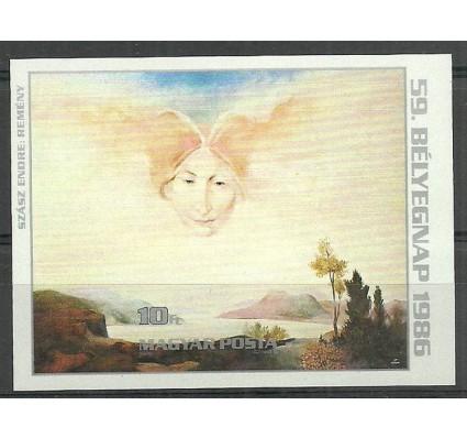Znaczek Węgry 1986 Mi bl185B Czyste **