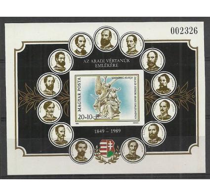 Znaczek Węgry 1989 Mi bl206B Czyste **