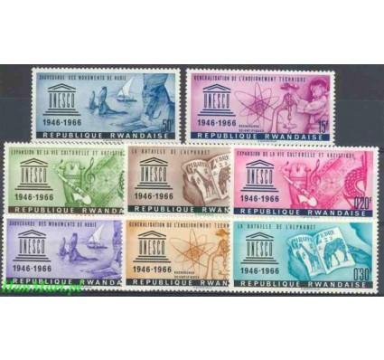Znaczek Rwanda 1966 Mi 193-200 Czyste **