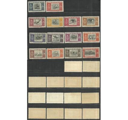 Znaczek Boliwia 1951 Mi 478-484 Czyste **