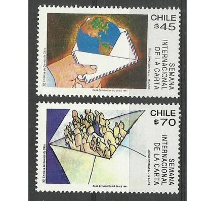 Znaczek Chile 1991 Mi 1468-1469 Czyste **