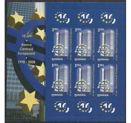 Znaczek Rumunia 2008 Mi ark 6298 Czyste **