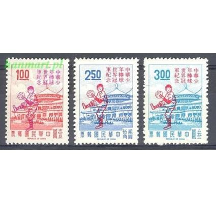Znaczek Tajwan 1971 Mi 836-838 Czyste **