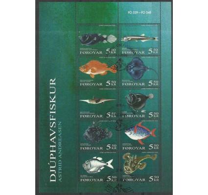 Znaczek Wyspy Owcze 2006 Mi ark 547-556 Stemplowane