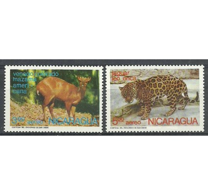 Znaczek Nikaragua 1974 Mi 1808-1809 Czyste **