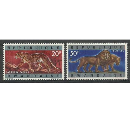 Znaczek Rwanda 1964 Mi 68-69 Czyste **