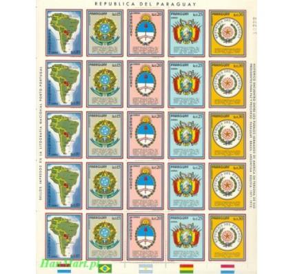 Paragwaj 1972 Mi 2344-2348 Czyste **