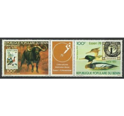 Znaczek Benin 1978 Mi 166-167 Czyste **