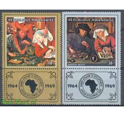 Rwanda 1969 Mi 335-336 Czyste **