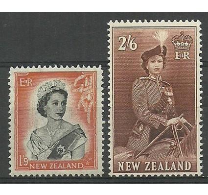Znaczek Nowa Zelandia 1957 Mi 366-367 Czyste **