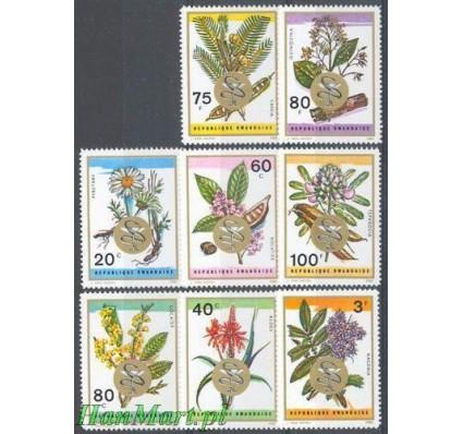 Rwanda 1969 Mi 342-349 Czyste **