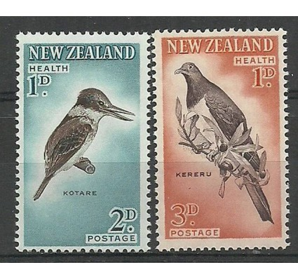 Znaczek Nowa Zelandia 1960 Mi 413-414A Czyste **