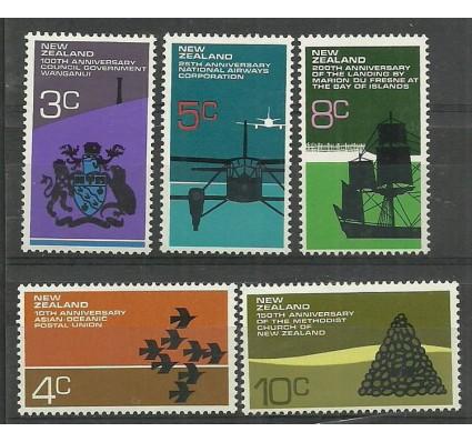Znaczek Nowa Zelandia 1972 Mi 579-583 Czyste **