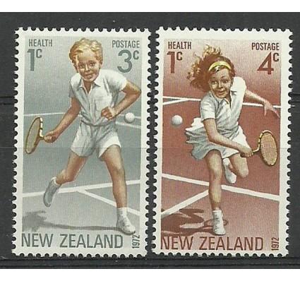 Znaczek Nowa Zelandia 1972 Mi 588-589 Czyste **
