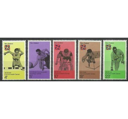 Znaczek Nowa Zelandia 1974 Mi 620-624 Czyste **