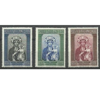 Znaczek Watykan 1956 Mi 263-265 Czyste **