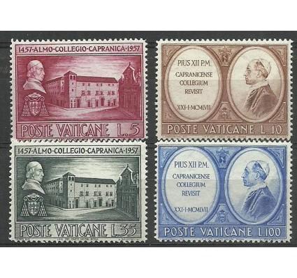 Znaczek Watykan 1957 Mi 270-273 Czyste **