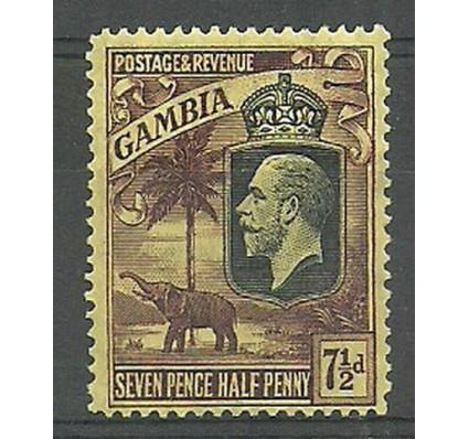 Znaczek Gambia 1927 Mi 102 Czyste **