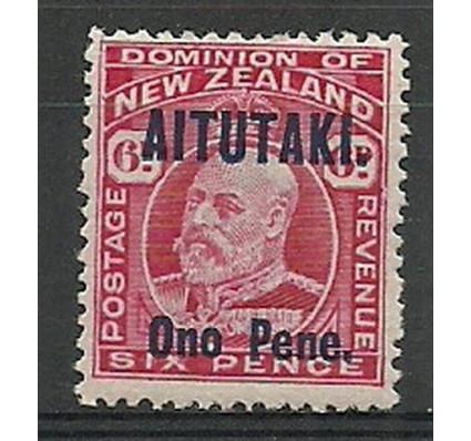 Znaczek Aitutaki 1916 Mi 9 Z podlepką *