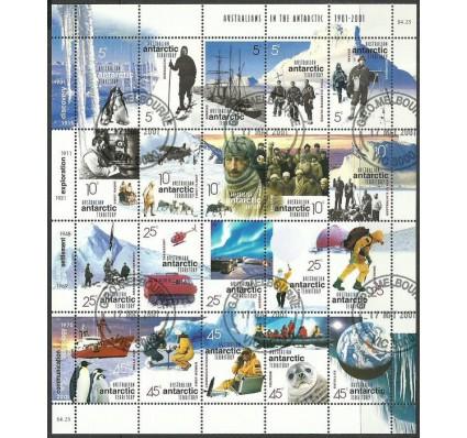 Znaczek Australijskie Terytorium Antarktyczne 2001 Mi ark125-144 Stemplowane