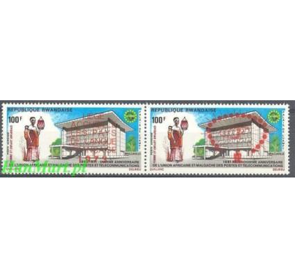 Znaczek Rwanda 1973 Mi 595-596 Czyste **