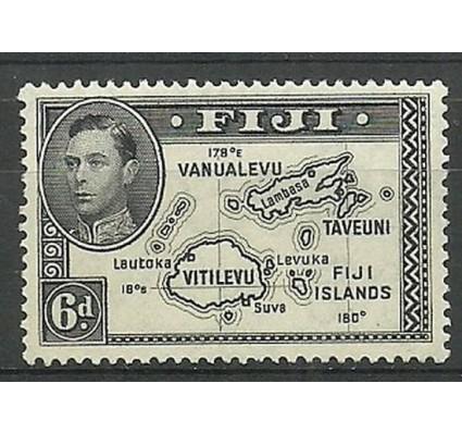 Znaczek Fidżi 1944 Mi 101Db Czyste **