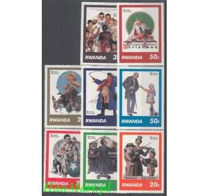 Rwanda 1981 Mi 1111-1118 Czyste **