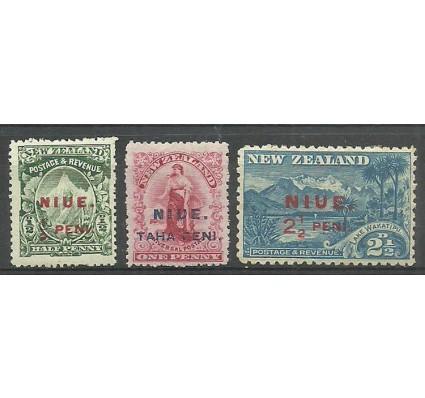 Znaczek Niue 1903 Mi 5-7 Z podlepką *