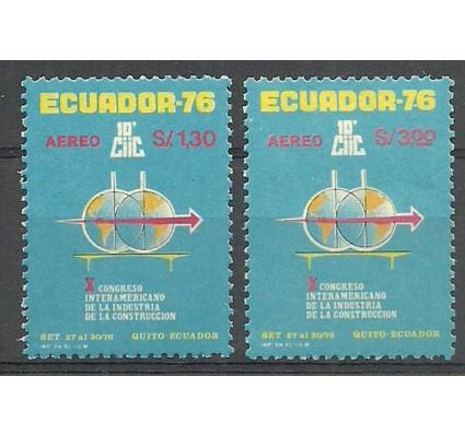 Znaczek Ekwador 1976 Mi 1732-1733 Czyste **