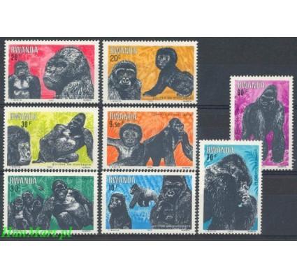 Znaczek Rwanda 1983 Mi 1242-1249 Czyste **