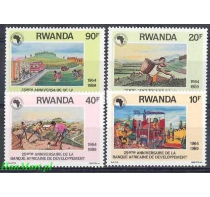 Rwanda 1990 Mi 1429-1432 Czyste **