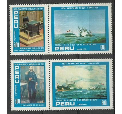 Znaczek Peru 1984 Mi 1280-1283 Czyste **