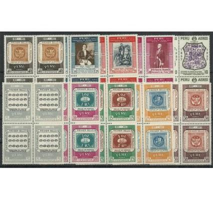 Znaczek Peru 1957 Mi 555-564 Czyste **