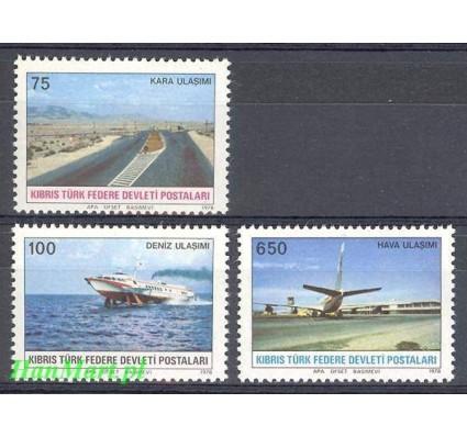 Znaczek Cypr Północny 1978 Mi 57-59 Czyste **
