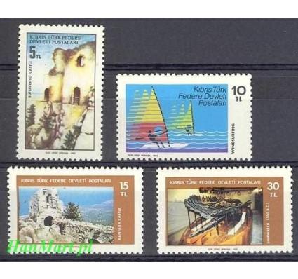 Znaczek Cypr Północny 1982 Mi 116-119 Czyste **