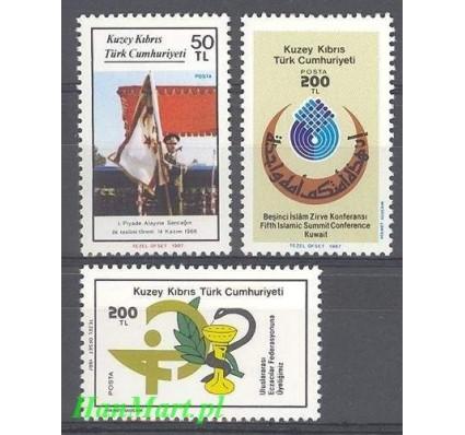 Cypr Północny 1987 Mi 211-213 Czyste **