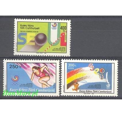 Cypr Północny 1988 Mi 232-234 Czyste **