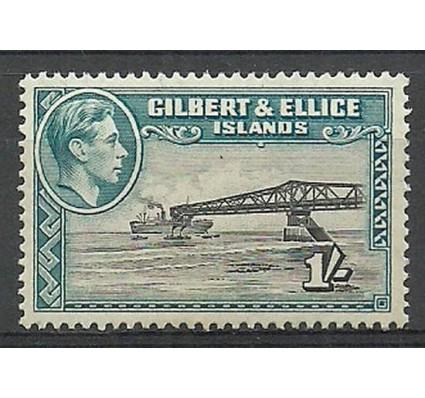 Znaczek Gilbert Ellice Islands 1939 Mi 46A Czyste **