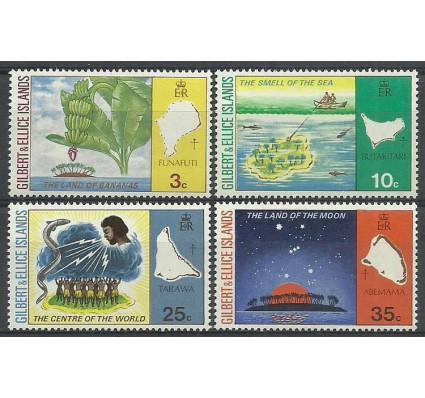 Znaczek Gilbert Ellice Islands 1973 Mi 203-206 Czyste **