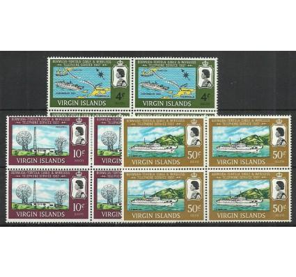 Znaczek Wyspy Dziewicze 1967 Mi 179-181 Czyste **